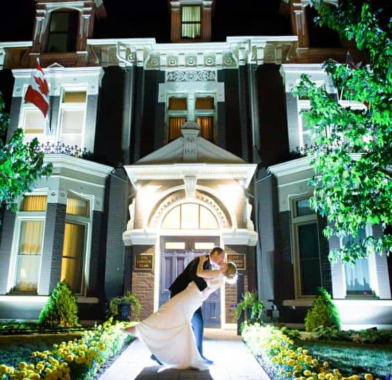 Get Married At The London Club Weddings At 177 Queens Ave In London